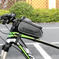 Wheel Up Waterproof Bicycle Front Bag MTB Road Bike Top Tube Frame Handlebar Touch Screen Bag 6 inch Cycling Pouch Phone Bag