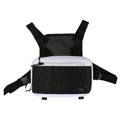Men Chest Rig Hip Hop Streetwear Chest Bag Vest For Men Shoulder Bag Military Tactical Tactical Travel Waist Bags Waist Packs