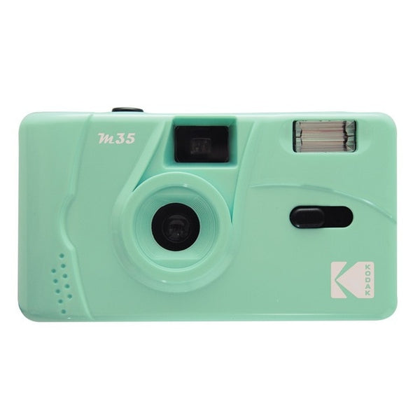 Vintage Retro M35 / M38 35mm Reusable Film Camera Sky Blue/ Yellow / Mint Green / Pink / Red / Cobalt Blue