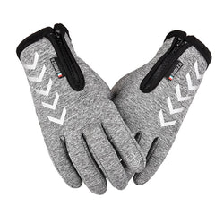 Winter Thermal Fleece Touchscreen Gloves Soft Fleece Gloves Cold Weather Fits Men & Women For Cycling Hiking Camping Skiing D30