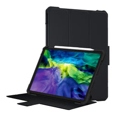 Armor Shockproof Case For iPad 11 inch/12.9 inch 2020,Shockproof Case Auto Sleep/Wake Heavy Duty PU Leather+TPU Hard Case Holder