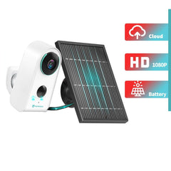 HMDC3MQ 1080P Security IP Camera Wireless Outdoor Night Vision Battery Solar Rechargeable 2-Way Home Surveillance Cam
