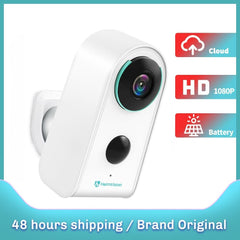 HMDC3MQ IP Camera WiFi 1080P Wireless Security Outdoor Battery Cam Rechargeable Surveillance Camera 2-Way Audio Home