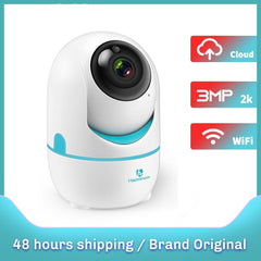 HMB02AQ 2K IP Camera Wifi Security Cam 2 Way Audio Motion Detect Night Vision Surveillance PTZ Camera Home/Baby/Pet