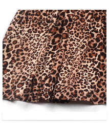 Girl Skirt Fashion Leopard Spring Summer Children Skirts for Toddler Girl 2 3 4 5 6 Year Children Outfits