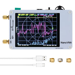 3G Vector Network Analyzer S-A-A-2 NanoVNA V2 Antenna Analyzer Shortwave HF VHF UHF with Housing Antenna Analyzer