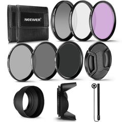 Professional UV CPL FLD Lens Filter+ND Neutral Density Filter(ND2/ND4/ND8) for Sony Nikon Canon Pentax  Cameras