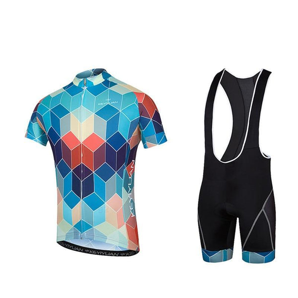 Men Jersey Bib shorts Sets Men Bike Clothing Suits Bicycle-Vimost Sports