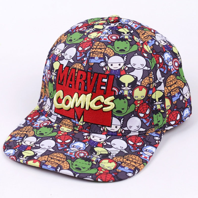 Marvel Comics The Avengers Men/Women Fashion Baseball Cap