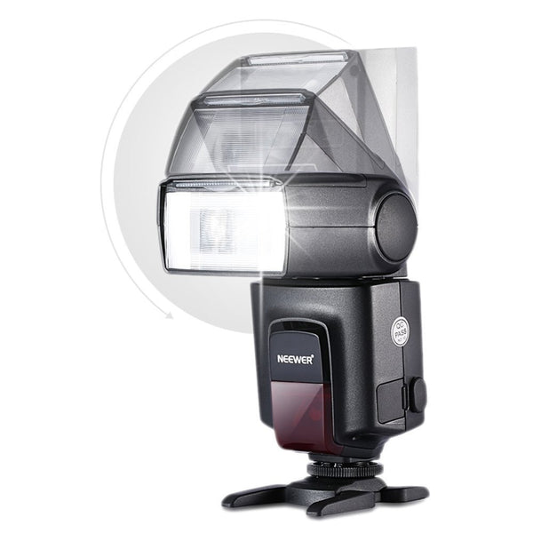 Flash Speedlite for Canon 6D/60D/700D/Nikon D7100/D90/D7000/D5300/All Cameras With Standard Hot Shoe+Softbox