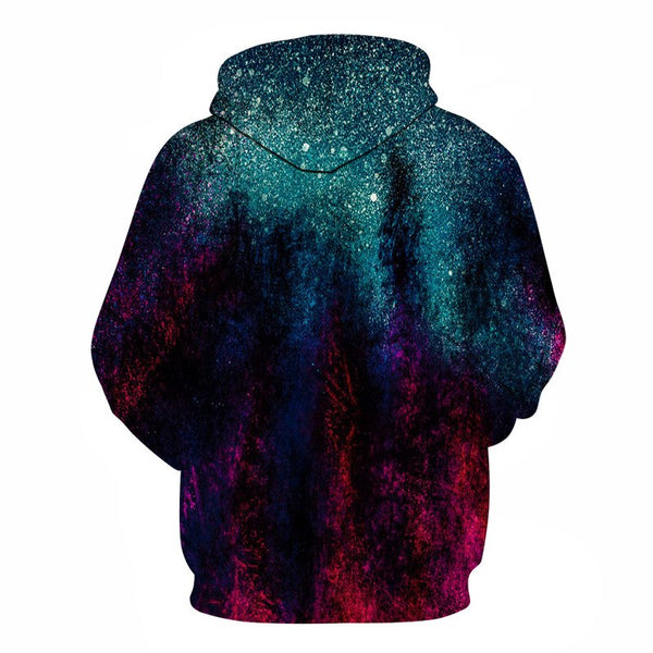 Galaxy Space Printed 3D Hoodies-Vimost Sports