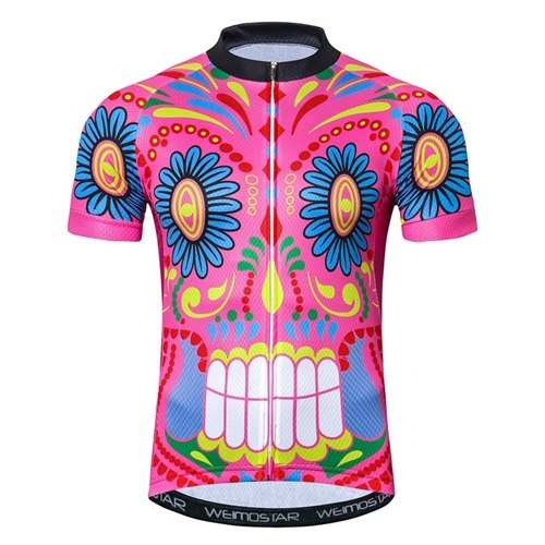 Men's Skull Summer Breathable Bicycle Cycling Clothing