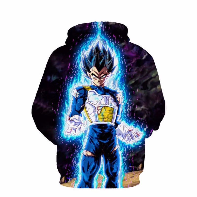 New Dragon Ball 3d  Super Saiyan hoodie tops sweatshirt-Vimost Sports