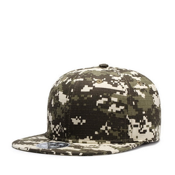 Quality Cotton Camouflage Baseball Caps Men Women