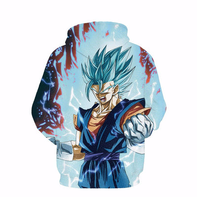 Dragon Ball  long-sleeved  Super Saiyan 3d hooded sweatshirt-Vimost Sports