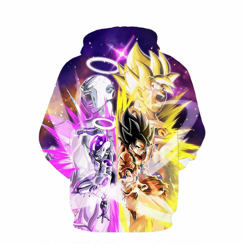 New men's  long-sleeved Dragon Ball  3d hooded sweatshirt