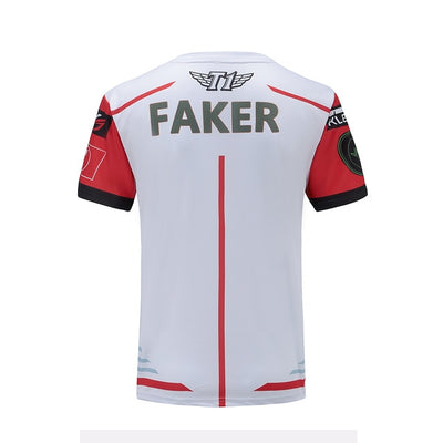 LPL Summer Faker LOL Gaming Shirts Team Jersey-Vimost Sports