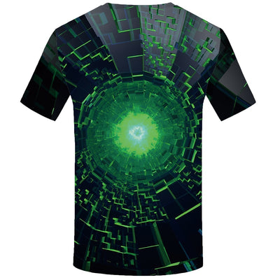 Men Hip Hop Space Black Hole 3D Printed Tshirt-Vimost Sports