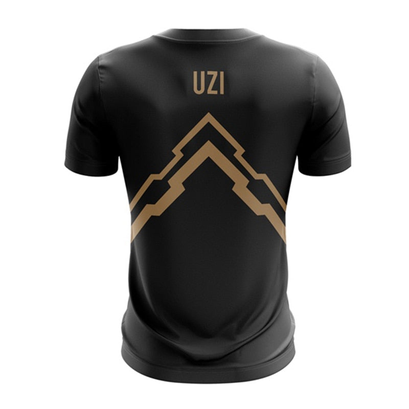 Men Rng Uzi Gaming T shirts-Vimost Sports