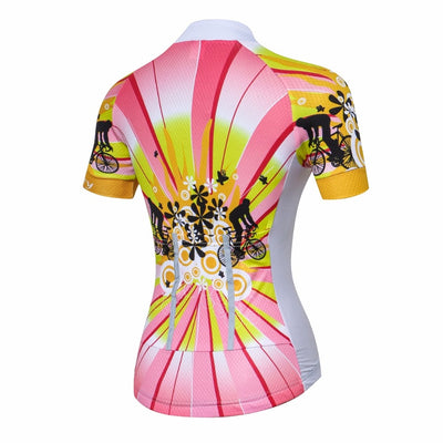 women mtb Short Sleeve Cycling Clothing Bicycle Clothes-Vimost Sports