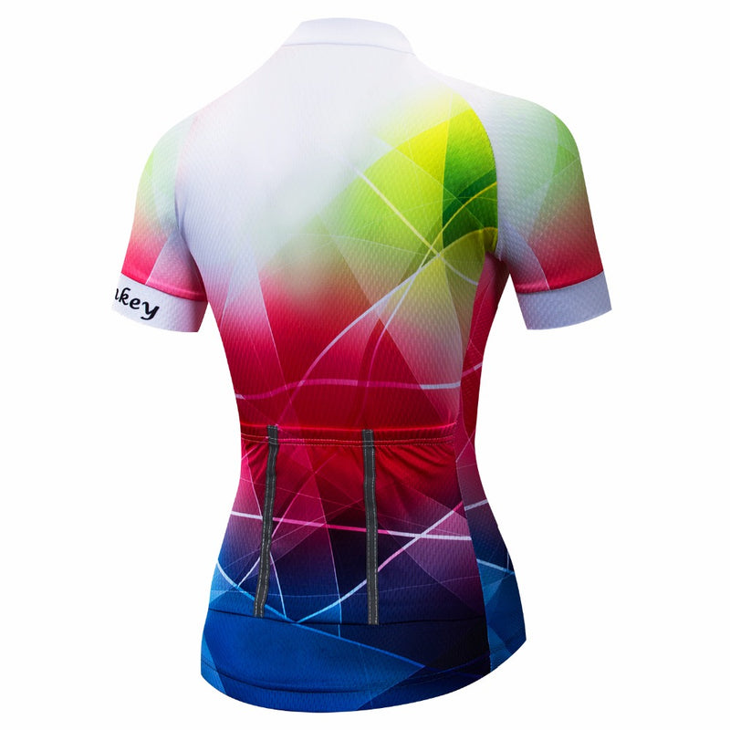 women mtb Short Sleeve Cycling Clothing Bicycle Clothes