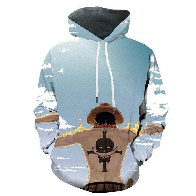One Piece men 3D Print Animal  Octopus Hoodies