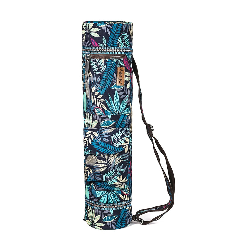 Printed Yoga Mat Bag Gym Mat Case For Momen Men