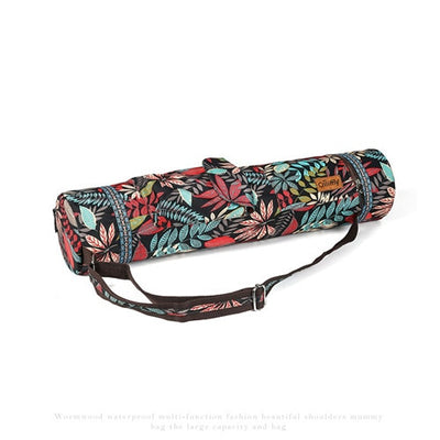 Printed Yoga Mat Bag Gym Mat Case For Momen Men-Vimost Sports