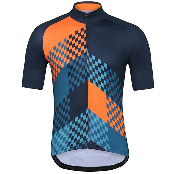 Pro team top cycling jersey summer Bicycle maillot breathable