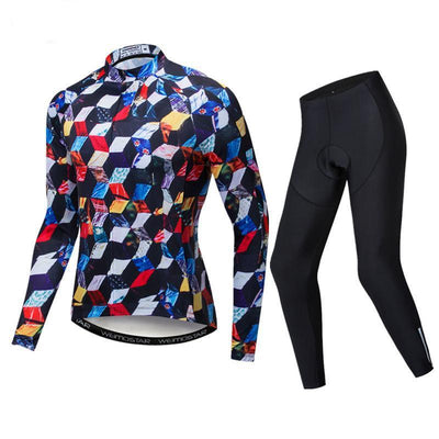 Men Quick Dry MTB Cycling Wear  Long Sleeve-Vimost Sports