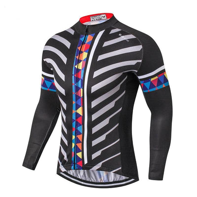 Men popular style MTB cycling clothing  Long Sleeve-Vimost Sports