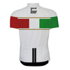 White italy pro team white bike clothing-Vimost Sports