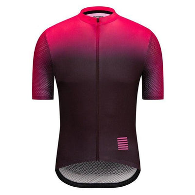 Men Short Sleeve Shirt Mtb  Bike Wear-Vimost Sports