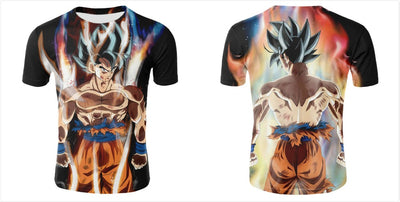 Anime Dragon Ball Fashion Women/Men Print  3D T-Shirt-Vimost Sports