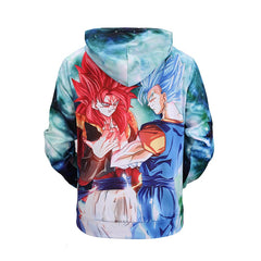 New men's hoodie Dragon Ball Goku 3D print hooded  sweater-Vimost Sports