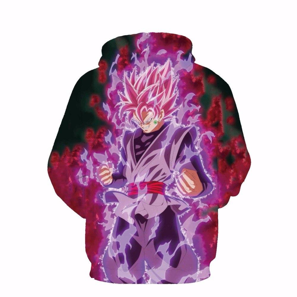 Dragon Ball New thin Hoodies hooded sweatshirt-Vimost Sports
