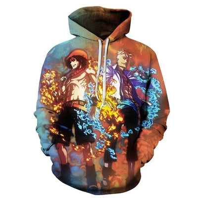 3D Anime One Piece Luffy 3d Print new Plus Size Hoodies Sweatshirts-Vimost Sports