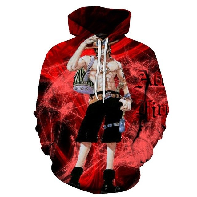 3D Anime One Piece Luffy 3d Print new Plus Size Hoodies Sweatshirts