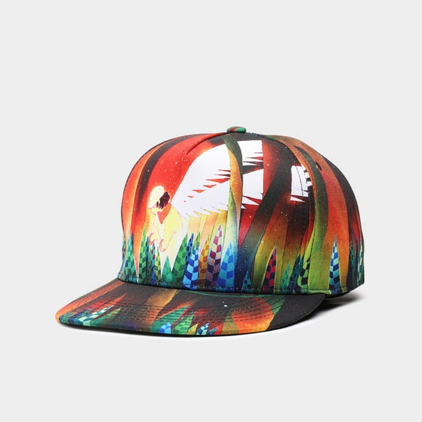 Hip Hop Multi Color Hat Cotton Men Women