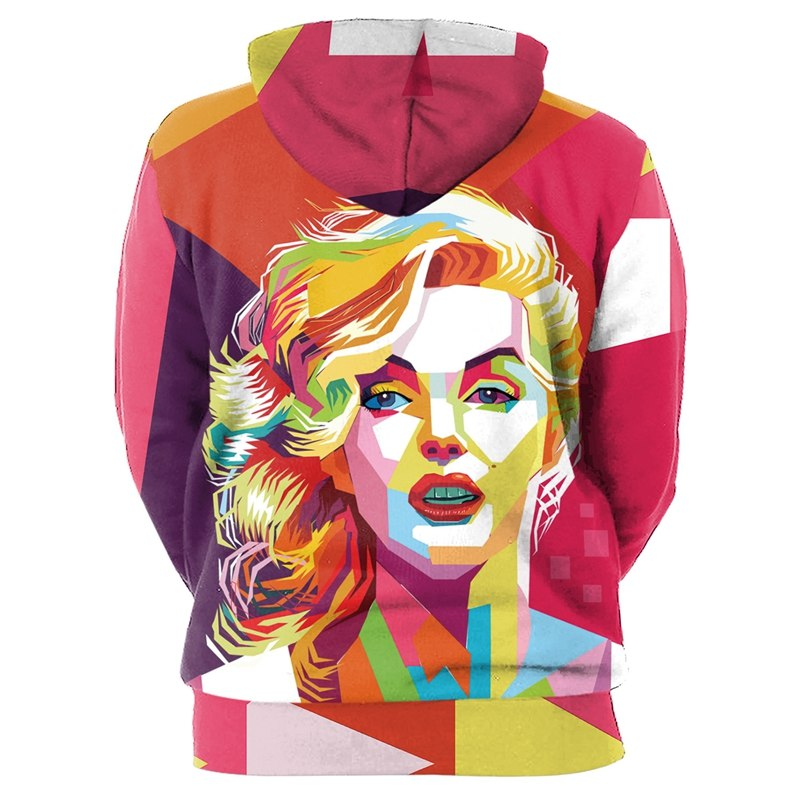 Marilyn Monroe Sexy Hoodies 3D Men Women-Vimost Sports