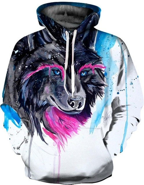 Galaxy Smoker Printed Hoodies 3D Sweatshirts Men Women