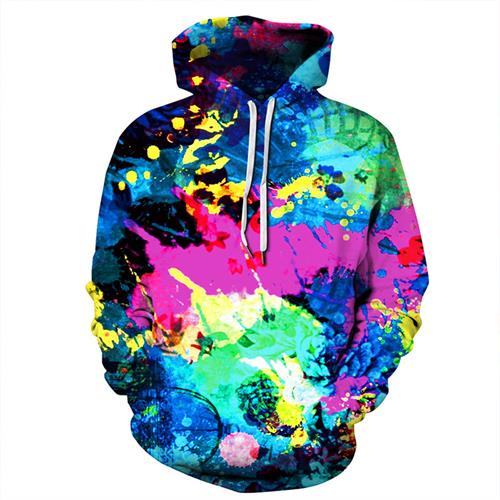 Plus Size  Hip Hop Pullover Streetwear  3D Print Hoodies-Vimost Sports