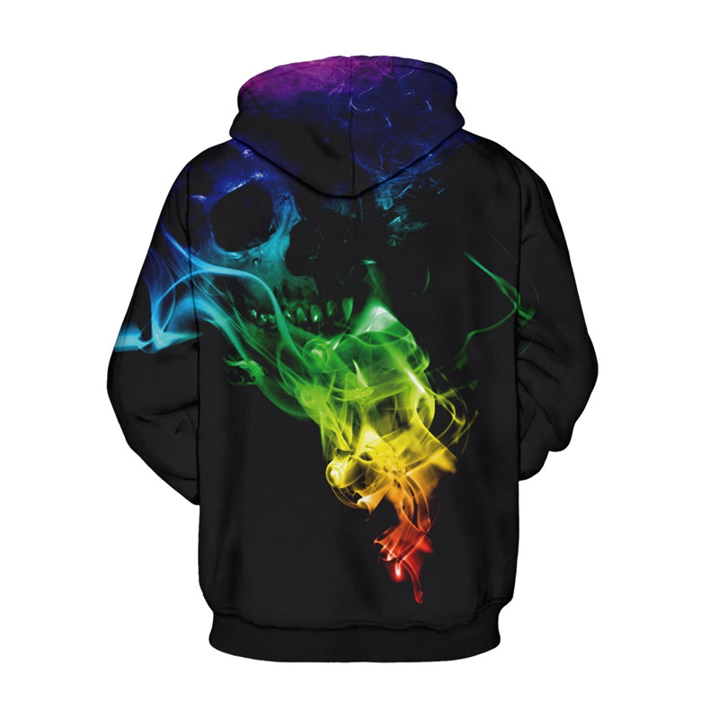 Ink 3D Paint Colorful  Pullover Streetwear