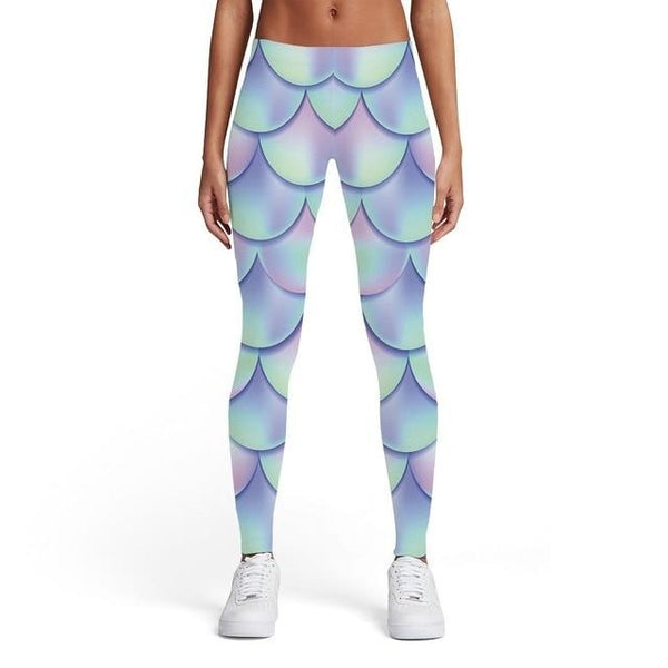 Rainbow Leggings Women Colorful Sport Psychedelic Sexy Stripes Printed pants