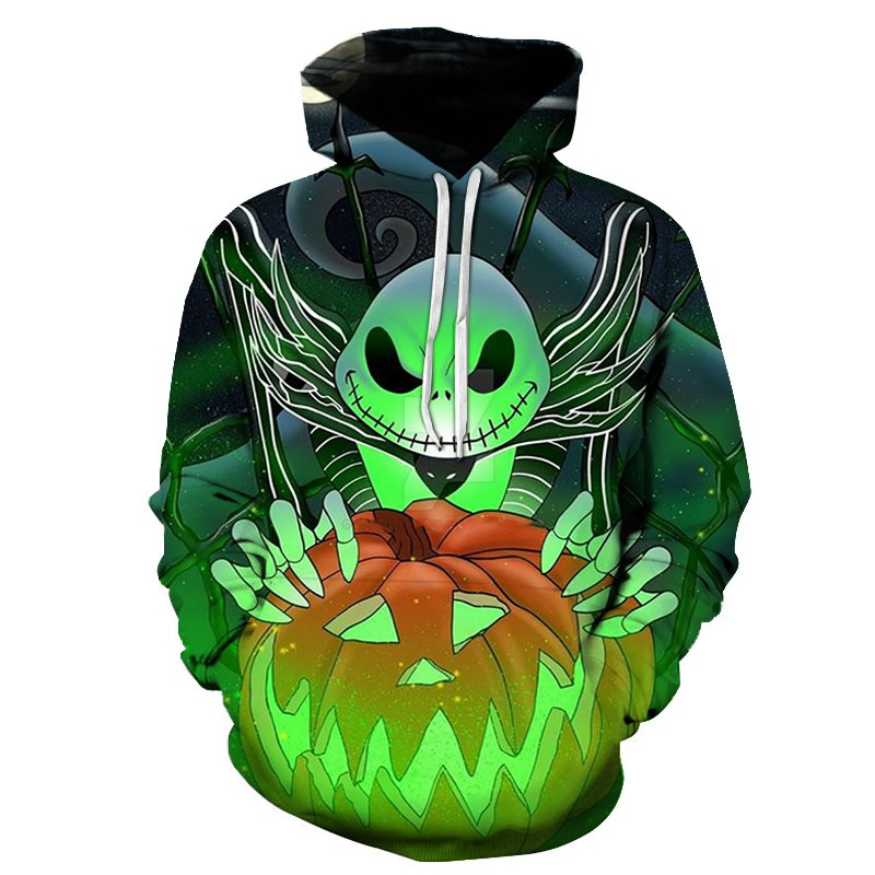 3d print Halloween Funny Broom Witches Hoodies