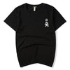 Samurai Harajuku Fashion Homme  Men T Shirt Tee