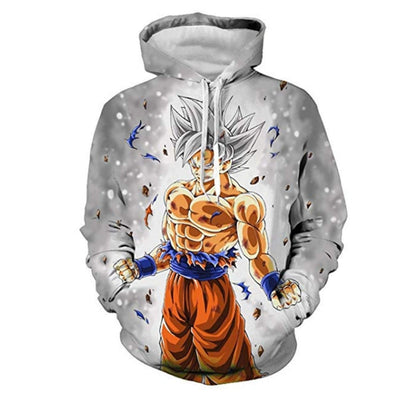 Dragon Ball Z Goku Anime 3D Print Hoodies Sweatshirts Harajuku Cartoon Hooded Women/Men long sleeve hip hop streetwear Clothes