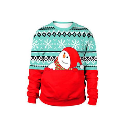 Tops Autumn Winter Ugly Christmas Sweater For gift
