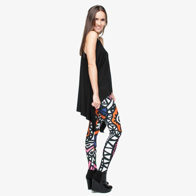 Fashion High Elasticity Legging Tribe Totem 3D Printing Women legins Stretchy Trousers Slim Fit Pants Leggings