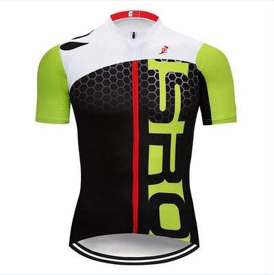 Green PRO TEAM cycling jersey Ropa Ciclismo
